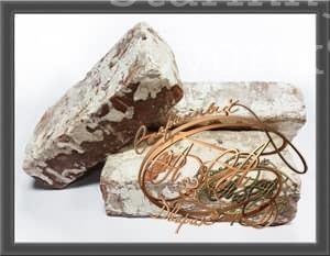 Старинный кирпич без клейма в известковом растворе
